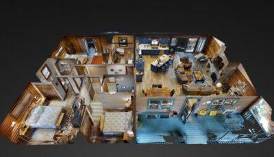 Moose Cabin 1 3D Model